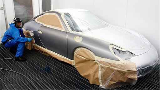 cabina de pintura coches